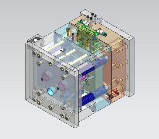 3D модель пресс формы