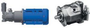 Привод ТПА с регулирование давления и расхода электронным устройством