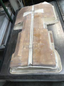 матрица для вакуумной формовки