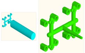 литник формы литья пластмасс